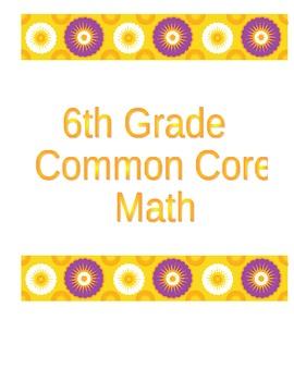 Common Core Math I Can Test Analysis Sheets