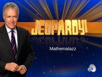 Common Core Math Jeopardy