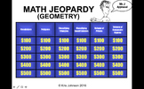 Common Core Math Jeopardy (With Video Tutorials) - Geometry