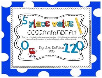 Common Core NO PREP Math Journal: First Grade Representing