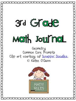 Common Core Math Journals Grade 3