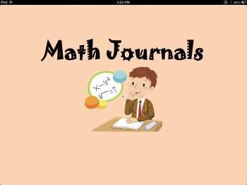Common Core Math Journals-Week#3
