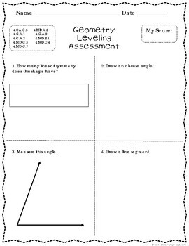 RTI Math {Intervention Leveling Assessments Common Core Aligned K to 5th}