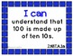 "Common Core Math Kid Friendly ""I Can"" Statements for 2nd Grade"