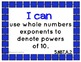 """Common Core Math Kid Friendly """"I Can"""" Statements for 5th Grade"""