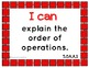 "Common Core Math Kid Friendly ""I Can"" Statements for 5th Grade"