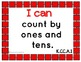 "Common Core Math Kid Friendly ""I Can"" Statements for Kindergarten"