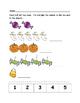 Halloween Math - Kindergarten - Numbers 1 to 10