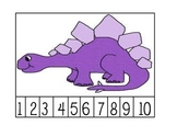Common Core Math Kindergarten- Number Puzzles for 1-20