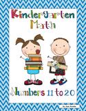 Kindergarten Math - Numbers 11 to 20