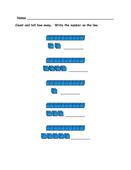 Kindergarten Math - Numbers 11 to 20