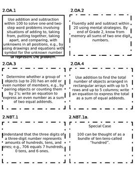 Common Core Math Labels
