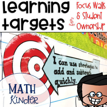 Common Core Math Learning Targets Kindergarten