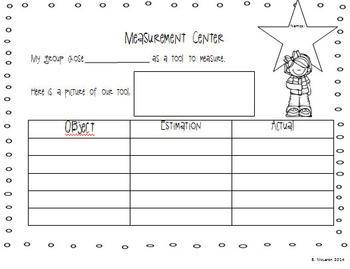 Common Core Math Measurement Unit for Second Grade