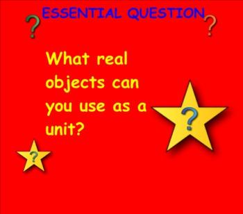 Common Core Math: Measuring With Non Standard Units (Smartboard)