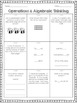 Common Core Math Mini Assessments