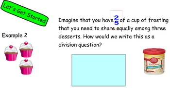 Common Core Math Mod2 Lesson 1 Division of Whole Number by Fraction