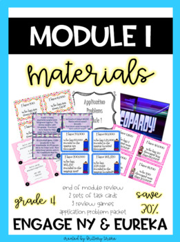 Engage NY Grade 4 Common Core Math Module 1, Bundle of Materials