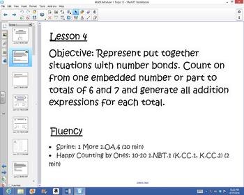 1st Grade Common Core Math Module 1 Topic B Lessons