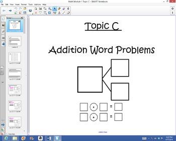 1st Grade Common Core Math Module 1 Topic C lessons