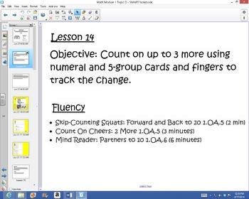 1st Grade Common Core Math Module 1 Topic D Lessons