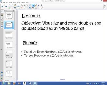 1st Grade Common Core Math Module 1 Topic F Lessons