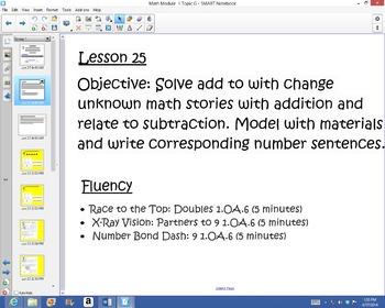 1st Grade Common Core Math Module 1 Topic G Lessons