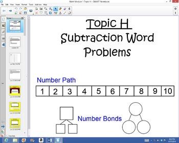 1st Grade Common Core Math Module 1 Topic H Lessons