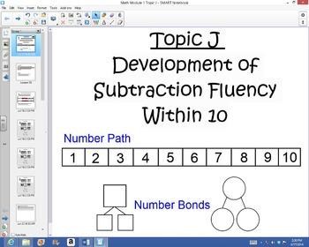 1st Grade Common Core Math Module 1 Topic J Lessons