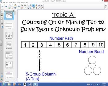 1st Grade Common Core Math Module 2 Topic A Lessons