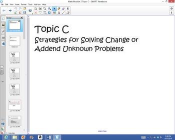 1st Grade Common Core Math Module 2 Topic C Lessons