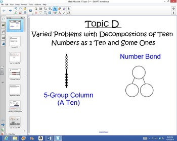 1st Grade Common Core Math Module 2 Topic D Lessons