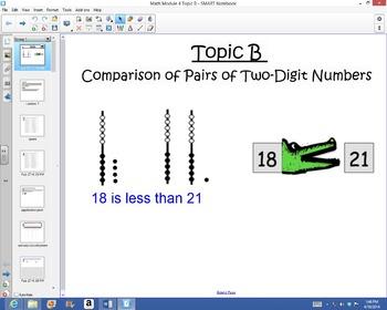 1st Grade Common Core Math Module 4 Topic B Lessons