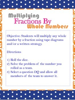 Common Core Math: Multiplying and Dividing fractions and Decimals!