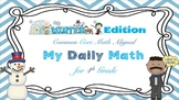 Common Core Math - My Daily Math for 4th Grade