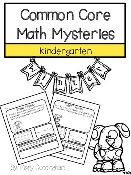 Common Core Math Mysteries Winter