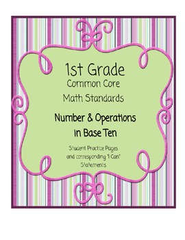 Common Core Math - Numbers and Operations in Base Ten for First Grade