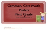 Common Core Math Objectives Posters: Numbers....Base Ten: