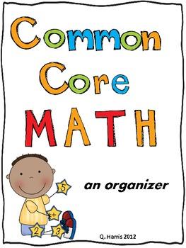 Common Core Math Organizer 2nd Grade