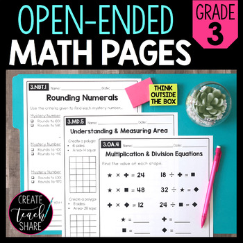 Common Core Math Outside of the Box (Grade 3)