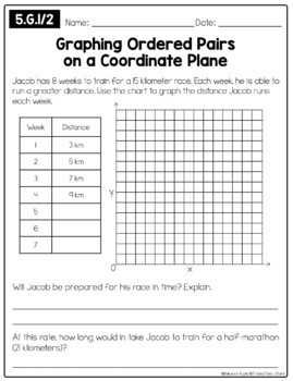 Common Core Math Outside of the Box (Grade 5)