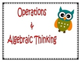 Owl Math Common Core Statement Headings