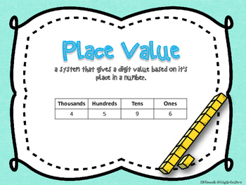 Common Core Math Pack Numbers and Base Ten 3.NBT.1
