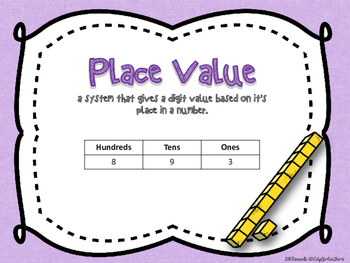 Numbers and Base Ten Math Centers (2.NBT.1)