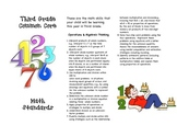 Common Core Third Grade Math Parent Brochure
