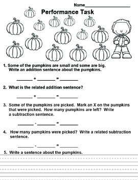 Common Core Math Peformance Tasks for 2nd Grade wtih Rubric