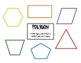 Common Core Math Polygon Poster