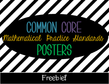 Common Core Math Posters