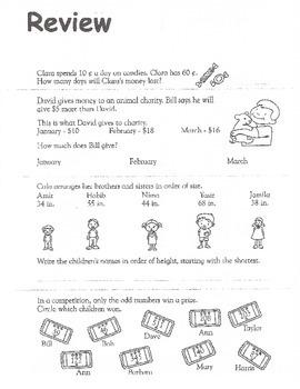 Common Core Math Practice - 2nd Grade