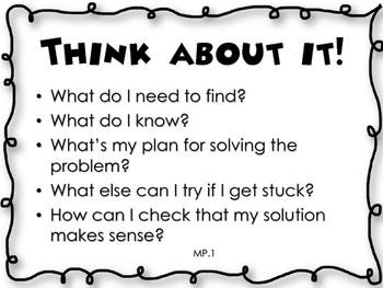Common Core Math Practice Guiding Questions